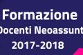 NEOASSUNTI IN FORMAZIONE A.S. 2017-2018