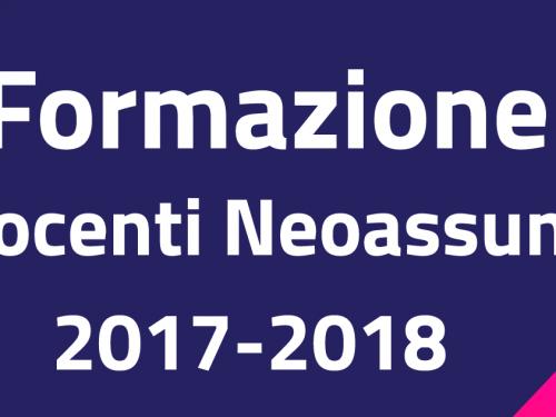 NEOASSUNTI IN FORMAZIONE A.S. 2018-2019