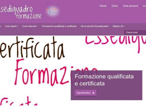 Formazione on line qualificata, certificata